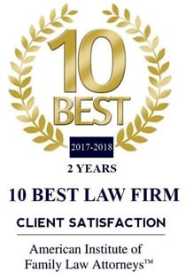 10 BEST 2017-2018 CLIENT SATISFACTION ||2 Years Client Satisfaction || American Institute Of Family Law Attorneys